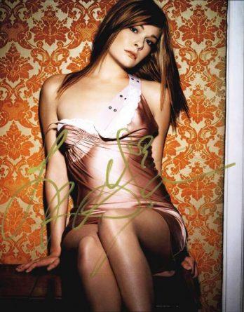Leann Rimes authentic signed 10x15 picture