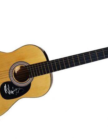 Melissa Etheridge authentic signed guitar