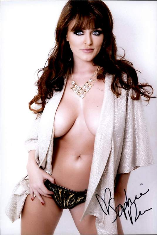 Sophie Dee authentic signed 10x15 picture