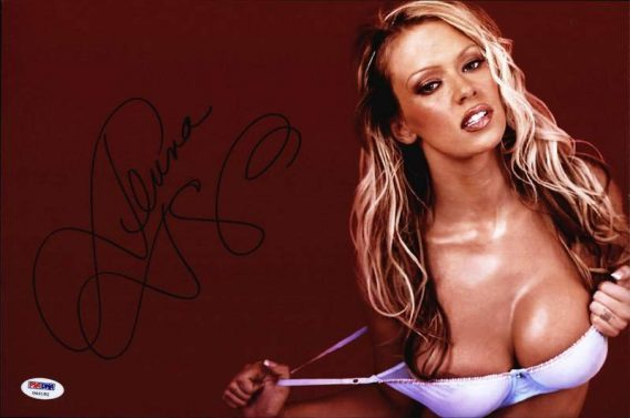 Jenna Jameson authentic signed 10x15 picture