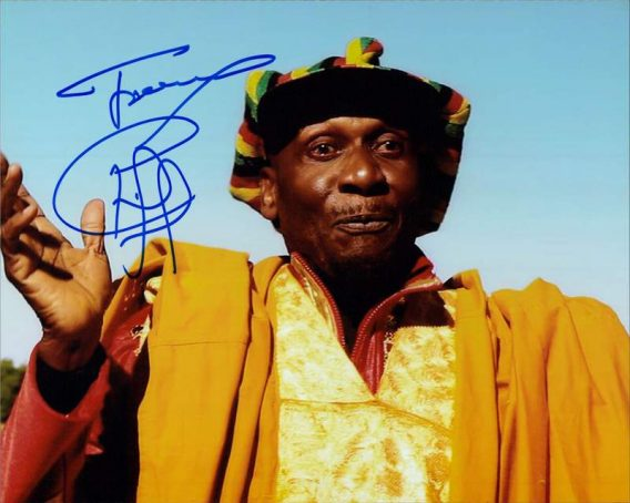 Jimmy Cliff authentic signed 8x10 picture