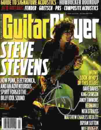 Steve Stevens authentic signed 8x10 picture