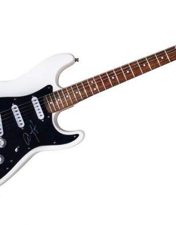 Adam Lambert authentic signed guitar