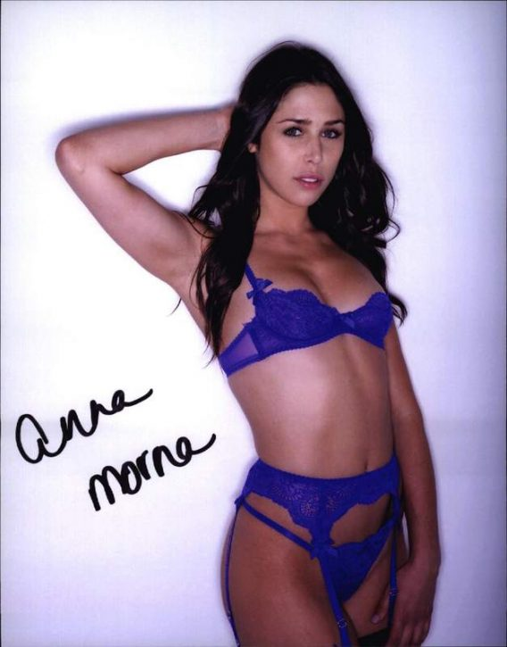 Anna Morna authentic signed 8x10 picture