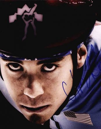 Apolo Ohno authentic signed 8x10 picture