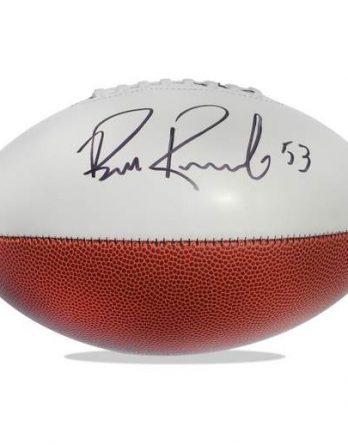Bill Romanowski authentic signed NFL ball