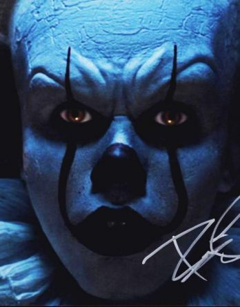 Bill Skarsgard authentic signed 11x14 picture