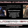 Bill Skarsgard certificate of authenticity from the autograph bank
