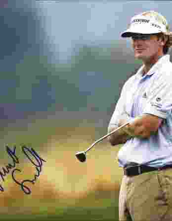 Brandt Snedeker authentic signed 8x10 picture
