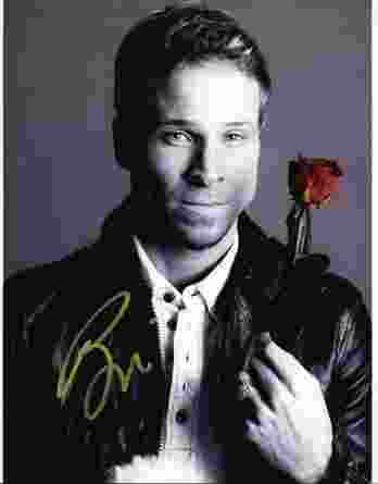 Brian Littrell authentic signed 8x10 picture