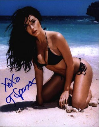 Cj Sparxx authentic signed 8x10 picture