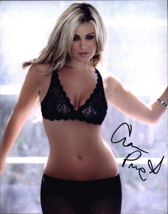 Ciara Price authentic signed 8x10 picture