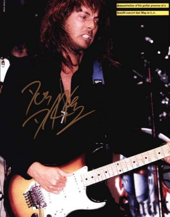 Don Dokken authentic signed 10x15 picture