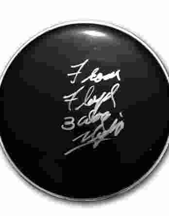 Floyd Sneed authentic signed drumhead