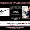 Gilby Clarke certificate of authenticity from the autograph bank