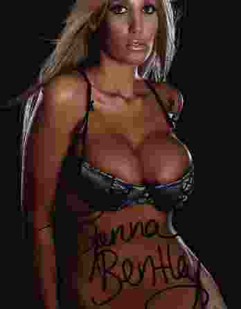 Jenna Bentley authentic signed 8x10 picture