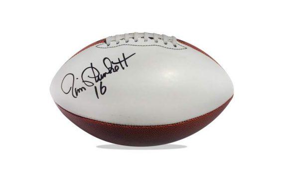 Jim Plunkett authentic signed NFL ball