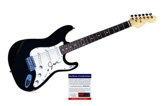 Joe Jonas authentic signed guitar