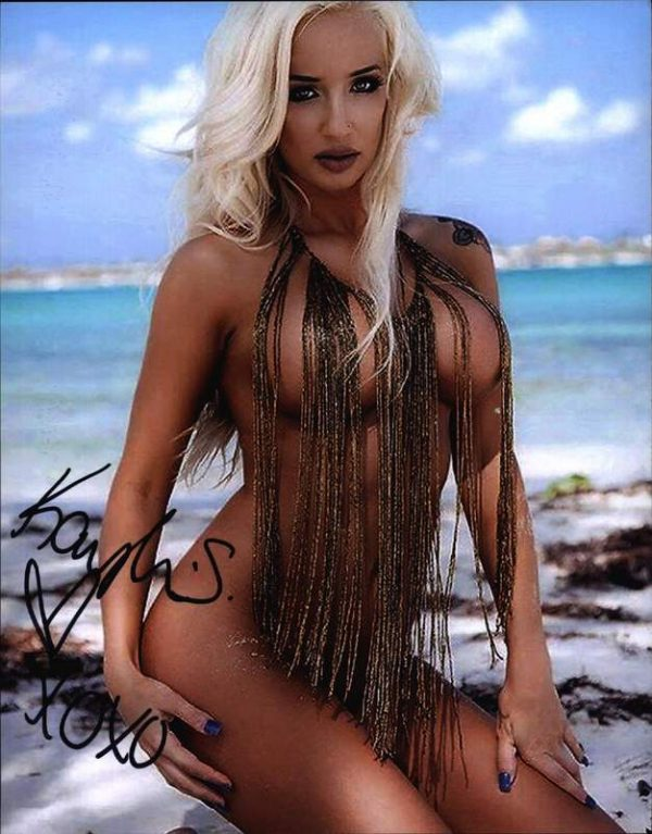 Kaylea Smith authentic signed 8x10 picture