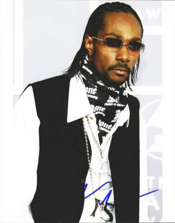 Krayzie Bone authentic signed 8x10 picture