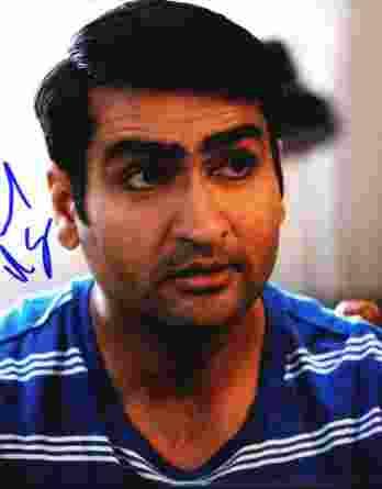 Kumail Nanjiani authentic signed 8x10 picture