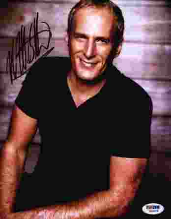 Michael Bolton authentic signed 8x10 picture