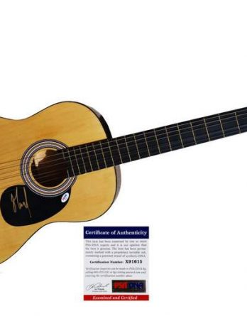 Munkey authentic signed guitar