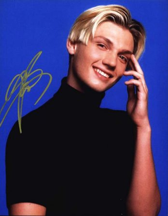 Nick Carter authentic signed 8x10 picture