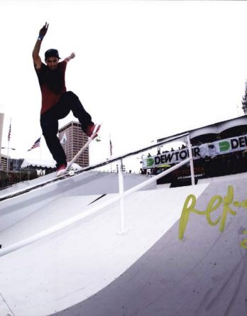 Paul Rodriguez authentic signed 8x10 picture