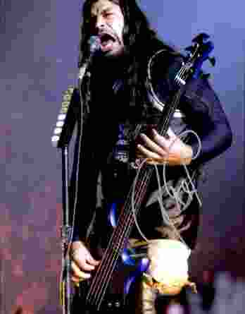 Robert Trujillo authentic signed 10x15 picture
