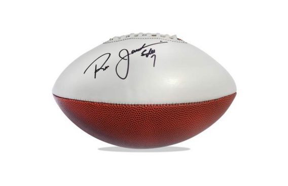 Ron Jaworski authentic signed NFL ball