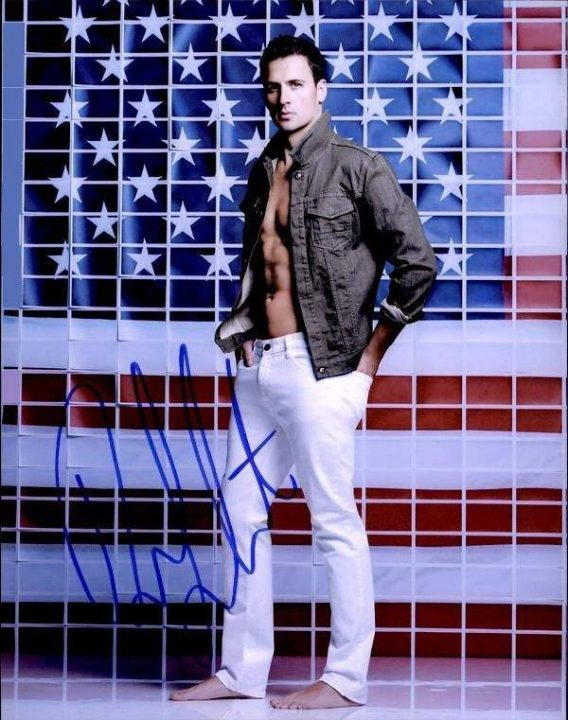 Ryan Lochte authentic signed 8x10 picture