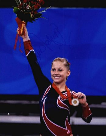 Shawn Johnson authentic signed 8x10 picture