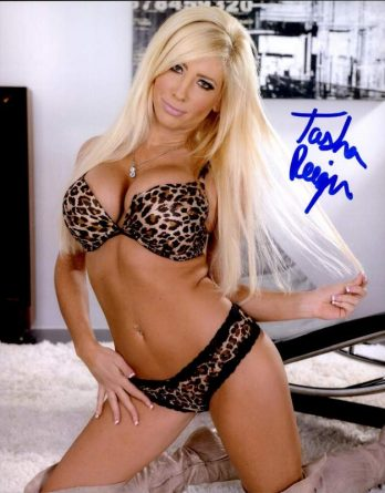 Tasha Reign authentic signed 8x10 picture
