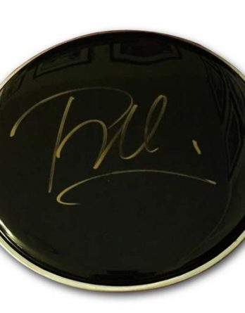 Tom Morello authentic signed drumhead