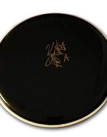 Travis Barker authentic signed drumhead