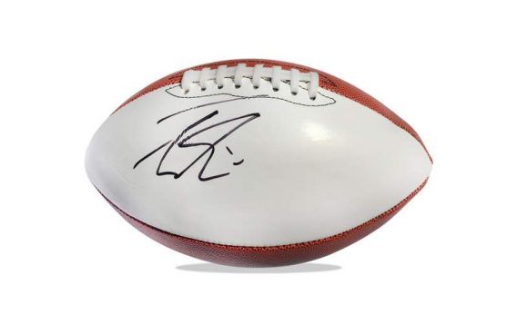 Trevor Siemian authentic signed NFL ball