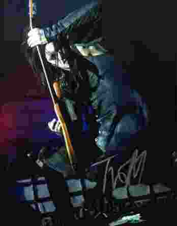 Twiggy Ramirez authentic signed 8x10 picture
