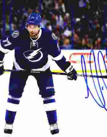 Victor Hedman authentic signed 8x10 picture