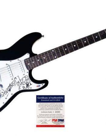 Wes Scantlin authentic signed guitar