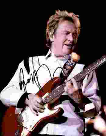 Andy Summers authentic signed 10x15 picture