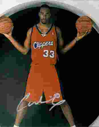 Chris Wilcox authentic signed 8x10 picture