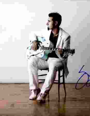 Serj Tankian authentic signed 10x15 picture