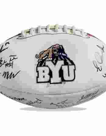 Byu Cougars authentic signed football