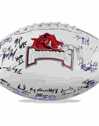 Arkansas Razorbacks authentic signed football