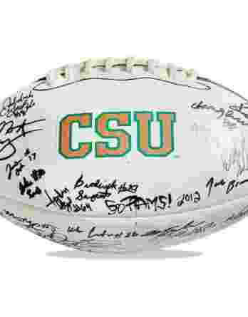 Colorado State Rams authentic signed football