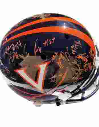 Virginia Cavaliers authentic signed football