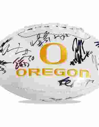 Oregon Ducks authentic signed football