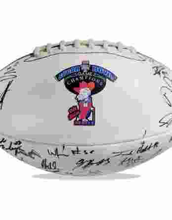 Ole Miss Rebels authentic signed football