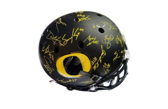 Oregon Ducks authentic signed football